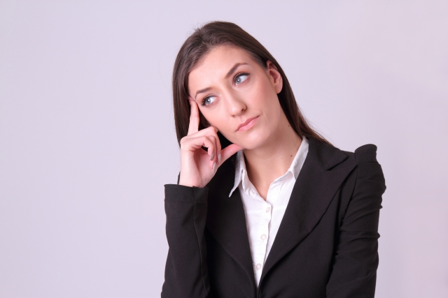 認知行動療法における思考の偏りのイメージ